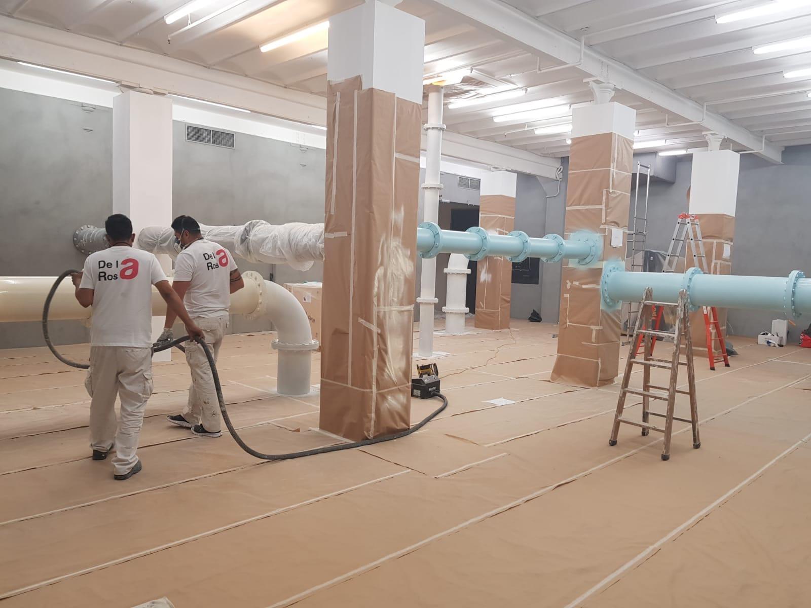 pintores de fábricas