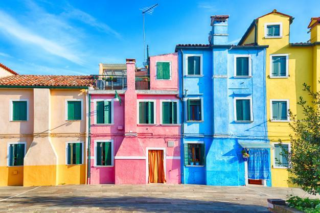 Las fachadas mas pintorescas del mundo