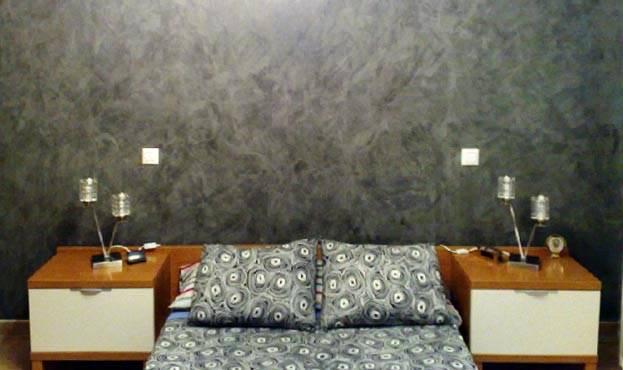 Consigue el efecto arena en tus paredes