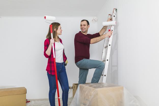 Pasos a seguir antes de pintar las paredes