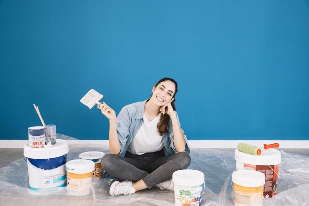 Haz tu casa diferente pintando diferente