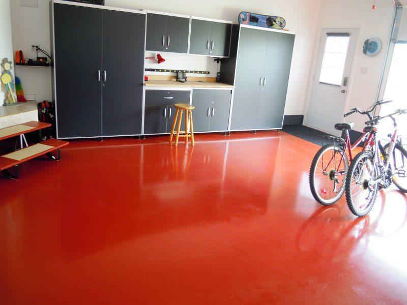 ¿Cómo se pinta el suelo de un garaje?