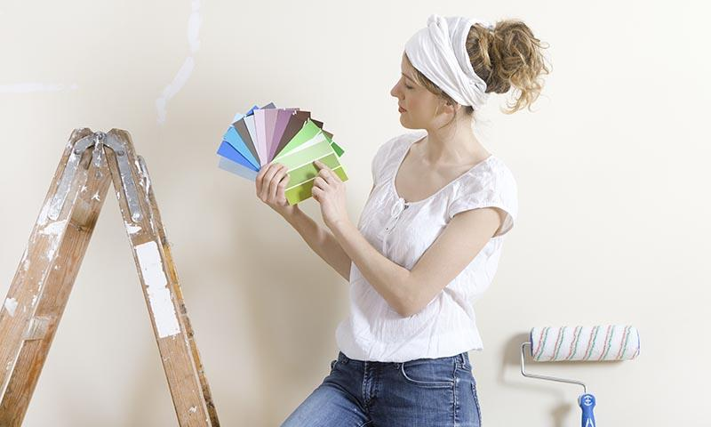 Lo que no tienes que hacer si vas a pintar tu casa